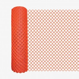 Resinet DM50448100 Diamond Mesh Barrier Fence 4' x 100' Roll