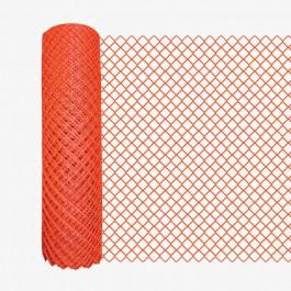 Resinet DM50448100 Diamond Mesh Barrier Fence 4' x 100' Roll