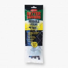 """Resinet LT1024 - 10"""" Reusable Locking Ties, 24 Pack"""