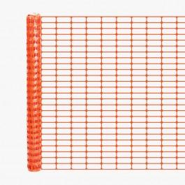 Resinet OL1648100 Lightweight Crowd Control Fence 4' x 100' Roll (Orange)