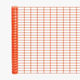 Resinet OL3548100 Oriented Barrier Fence 4' x 100' Roll (Orange)