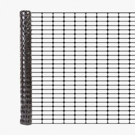 Resinet OL3548100 Oriented Barrier Fence 4' x 100' Roll (Black)
