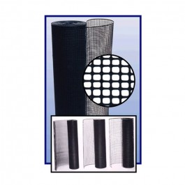 Resinet SM2048100 Specialty Square Mesh Barrier Fence 4' x 100' Roll