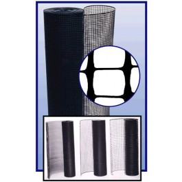 Resinet SM407250 Mesh Barrier Fence 6' x 50' Roll