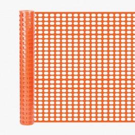 Resinet OSF5048100 Oriented Snow Fence (Orange)