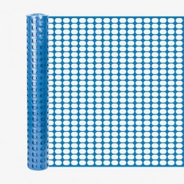 Resinet SL2148100 Oriented Flat Mesh Barrier Fence (Blue)