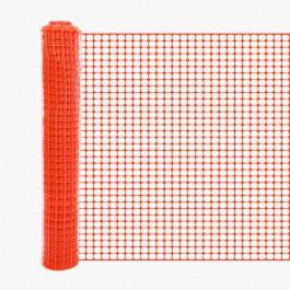 Resinet SLM407250 6' Crowd Control Fence 6' x 50' Roll (Orange)