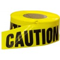 Yellow Caution Economy Caution Tape 1000' Roll 2 Mil Thick