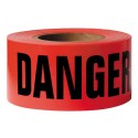 Red Danger Caution Tape 1000' Roll 2 Mil Thick