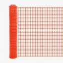Resinet SLMUT48100 Economy Square Mesh Barrier Fence 4' x 100' Roll