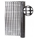 Resinet SF5048100 Heavy Duty Snow Control Fence 4' x 100' Roll (Black)
