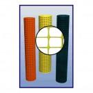 Resinet SML4548100 Lightweight Square Mesh Barrier Fence 4' x 100' Roll
