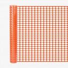 Resinet SL2148100 Oriented Flat Mesh Barrier Fence (Orange)