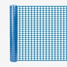 Resinet SL2148100 Oriented Flat Mesh Barrier Fence (Blue)