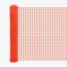 Resinet SLM4548100 Lightweight Square Mesh Barrier Fence 4' x 100' (Orange)