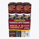 Quest Brick & Block Underlay Woven Hardscape Folded Fabric 6' x 50'